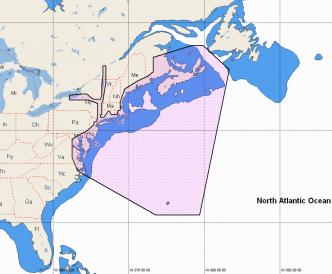 C-MAP REVEAL Nova Scotia to Chesapeake Bay (M-NA-Y202-MS)