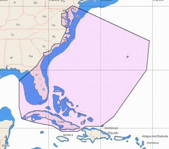 C-MAP REVEAL Chesapeake Bay to The Bahamas (M-NA-Y203-MS)