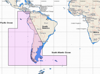 C-MAP REVEAL Costa Rica to Chile to Falklands (M-SA-Y500-MS)