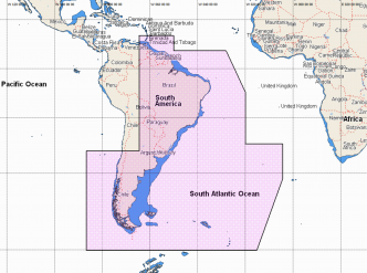 C-MAP REVEAL Gulf of Paria to Cape Horn (M-SA-Y501-MS)