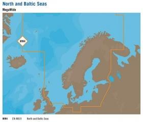 C-MAP MAX (EN-M019) Pohjois-Eurooppa (C-Card)