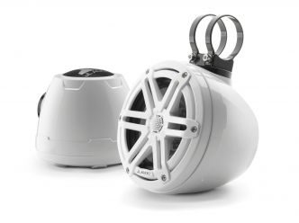 """JL Audio 6.5"""" koteloitu M3-650VeX™ valkoinen kaiutinpari"""