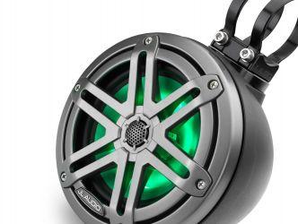 "JL Audio 6.5"" koteloitu M3-650VeX™ musta kaiutinpari LED-valaistuksella"