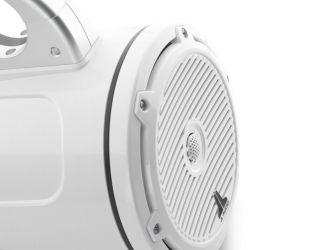 """JL Audio 7.7"""" koteloitu M3-770VETXv3 valkoinen kaiutinpari Classic-ritilällä"""