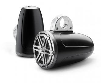 """JL Audio 7.7"""" koteloitu M3-770ETXv3 musta kaiutinpari Sport-ritilällä"""