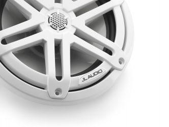 """JL Audio 7.7"""" M3-770x kaiutinpari valkoisella Sport-ritilällä"""