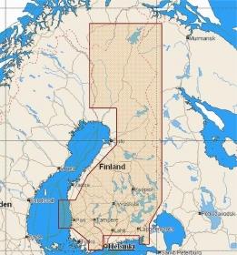 C-MAP MAX (EN-M326) Suomen Järvet (C-Card)