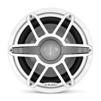 """JL Audio 10"""" M6-10IB Subwoofer valkoisella Sport-ritilällä"""