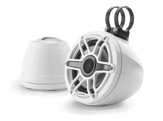 """JL Audio 6.5"""" koteloitu M6-650VeX™ valkoinen kaiutinpari"""