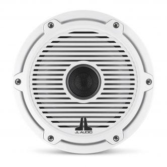 """JL Audio 7.7"""" M6-770x kaiutinpari valkoisella Classic-ritilällä ja rungolla"""
