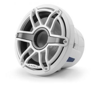 """JL Audio 8"""" M6-8IB Subwoofer valkoisella Sport-ritilällä"""