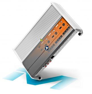 JL Audio M600/6-24V venevahvistin, 6-kanavainen 600 W (24 V)