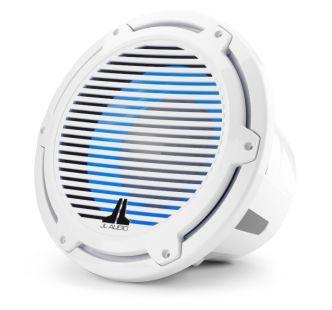 """JL Audio 12"""" M7-12IB Subwoofer valkoisella Classic-ritilällä sekä LED-valaistuksella"""
