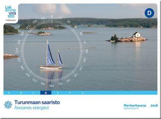 Merikarttasarja D Turunmaan saaristo 2014