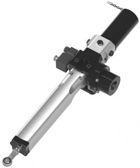 Hy-ProDrive ML+40 hydraulinen työntövarsi 700 kg, 24 V