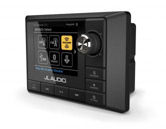 JL Audio MediaMaster® 100s-BE vesitiivis äänilähde täysvärinäytöllä ESITTELYLAITE