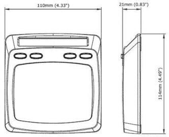 Raymarine Micronet digitaalinäyttö T110