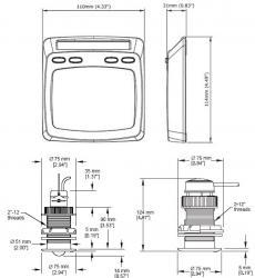 Raymarine Micronet nopeus/kaikujärjestelmä T100