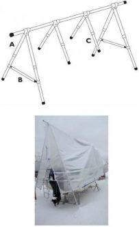 NOA A-teline 6 metriä