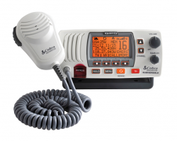 Cobra MR F77W GPS VHF Radiopuhelin DSC:llä