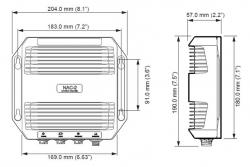 Simrad NAC-2 AP44 VRF autopilotti hydrauliohjauksiin