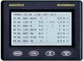 NASA Clipper Weatherman Radio Telex säävastaanotin