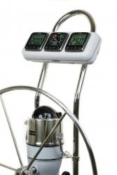"""NavPod InstrumentPod GP1300 asennuskotelo 9.5"""" kaarivälille"""