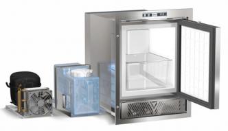 Vitrifrigo XR REFILL jääpalakone erillisellä kompressorilla ja ulkoisella vesisäiliöllä, 230 V