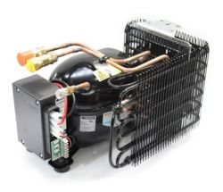 Kompressoriyksiköt ovat markkinoiden sähköpiheimpiäSaksalaisen Secopin (Danfoss) valmistamia