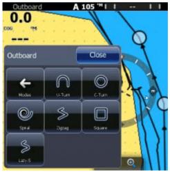 Lowrance/Simrad autopilottisarja kaapeliohjaukseen POINT-1 GPS:llä