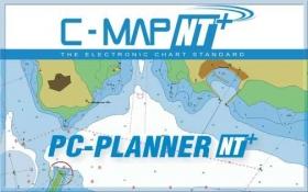 C-MAP PC-Planner NT+/MAX reitinsuunnitteluohjelma C-CARD ja SD-korteille