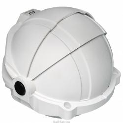 Plastimo Offshore 135 kompassi edestä luettava, valkoinen