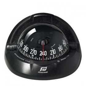 Plastimo Offshore 115 kompassi edestä luettava, musta