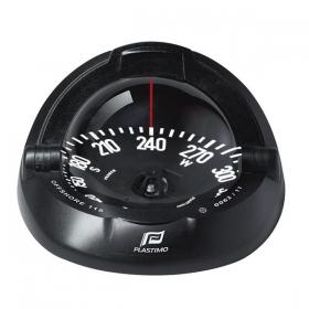 Plastimo Offshore 115 kompassi takaa luettava, musta