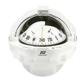 Plastimo Offshore 105 kompassi edestä luettava, valkoinen