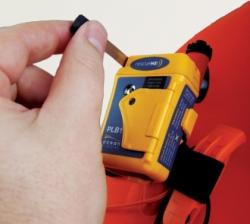 Ocean Signal rescueME PLB on maailman pienin markkinoilla oleva henkilökohtainen hätälähetin