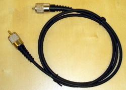 Kytkentäkaapeli UHF (SO239) uros  UHF (SO239) uros