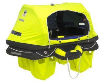 Viking RescYou Pro 4 itseoikaiseva pelastuslautta kassimalli