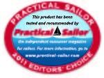 'Practical Sailor'-lehden 'Editor's Choice'-palkinto