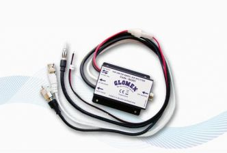 Glomex RA201 VHF/AM-FM radio ja AIS-Splitter