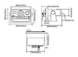 Raymarine Ray60 VHF puhelin