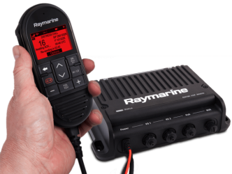 Raymarine Ray90 Black Box VHF radiopuhelin