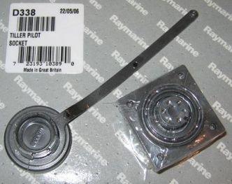 Raymarine ST1000/2000 pinnapilotin virtaliitin