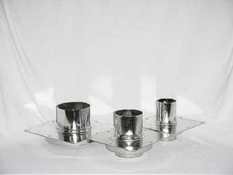 Refleks kannen läpivientilaippa, suora