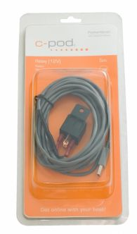 C-pod rele USB-liitännällä, 12 V