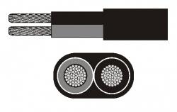 Asennuskaapeli 2 x 2.5 mm²
