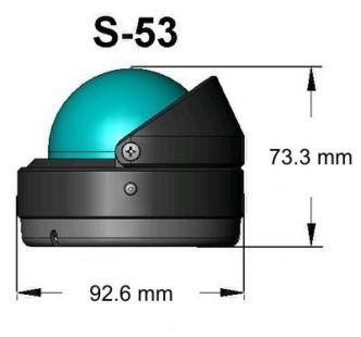 Ritchie Explorer- kompassi pinta-asennuksella, valkoinen
