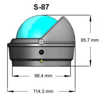 Ritchie Voyager- kompassi pinta-asennuksella, musta
