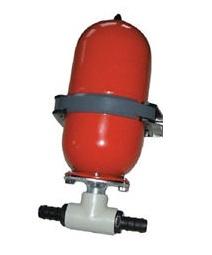 Johnson Pump paineentasaussäiliö 2 l, 13 mm letkulle