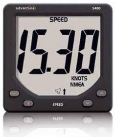 advanSea S400 SPEED näyttö